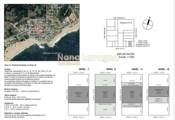 Casa Apta Para Local En La Mejor Zona De En Manantiales, Venta- Ref: 216123