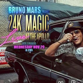 Bruno Mars Live Cbs Apollo Teacher