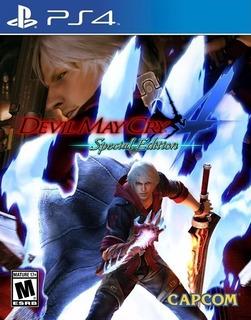 Devil May Cry 4 Special Edition ~ Ps4 Digital Español