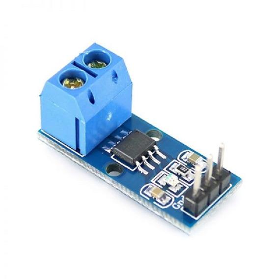 Módulo Sensor De Corrente Acs712 - 20a Arduino Pic