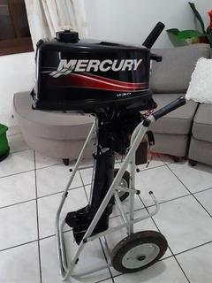 Motor De Popa Mercury 5 Hp Ano 2019
