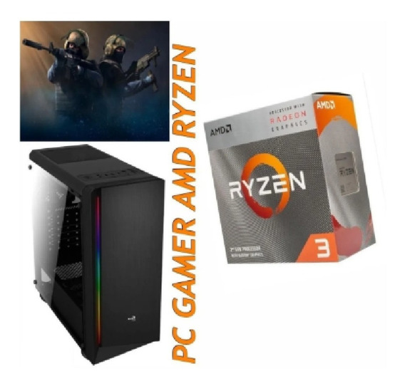 Pc Gamer Amd Ryzen 3 3200g + Hd 1tb + Memória Ddr4 8gb