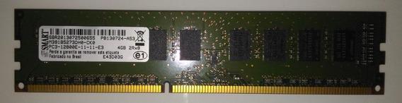 Memória Smart 4gb Ram 2rx8 Pc3 12800e