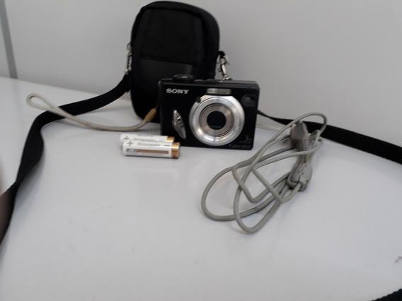 1 Kit Camera Sony Não Funciona 1 Mini Tripe E 2 Pilhas Recar