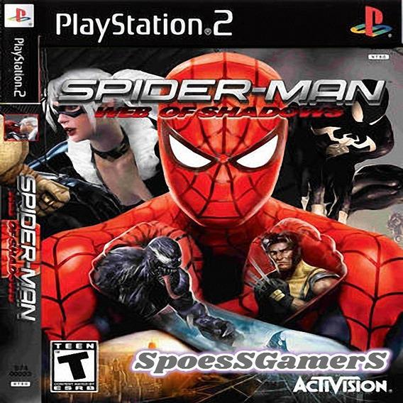 Homem Aranha Spider-man Web Of Shadows Ps2 Patch Infantil Me