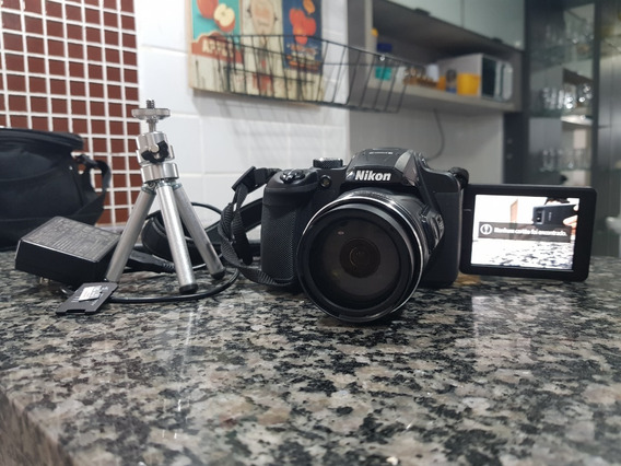 Camera Nikon Coolpix B700 20mp 60x 4k Wifi Preto