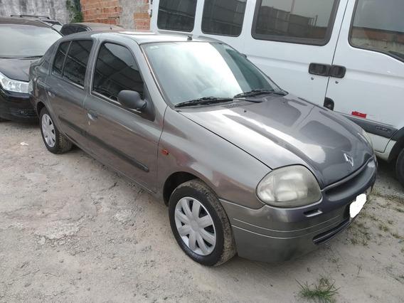 Clio Sedan 1.6 Completo E Barato Ano 2001