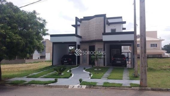 Casa Com 3 Dormitórios À Venda, 200 M² Por R$ 530.000,00 - Condomínio Campos Do Conde - Sorocaba/sp - Ca1540