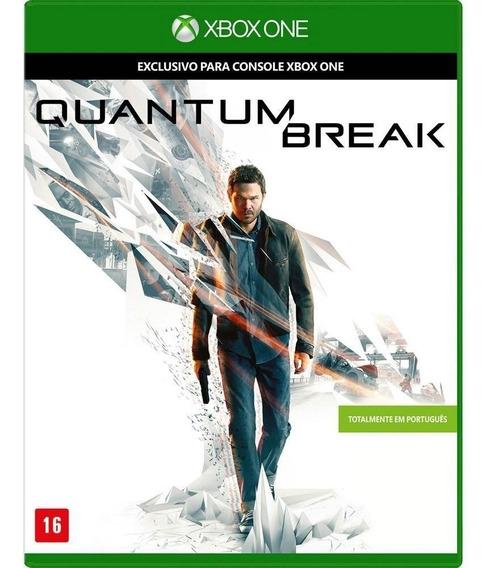 Quantum Break - Xbox One - Novo - Mídia Fisíca - Português