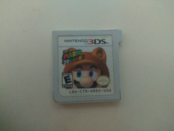 Mario 3d Land - Jogo Nintendo 3ds