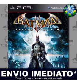 Batman Arkham Asylum Ps3 Mídia Digital Psn Envio Imediato