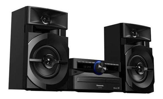 Mini System 250wrms Panasonic Bluetooth, Usb, Fm
