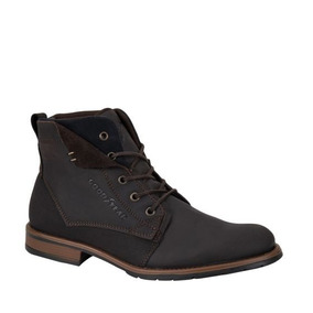Bota Heavy Goodyear 27hp Piel Color Cafe