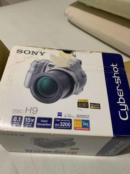Câmera Sony Dsc-h9