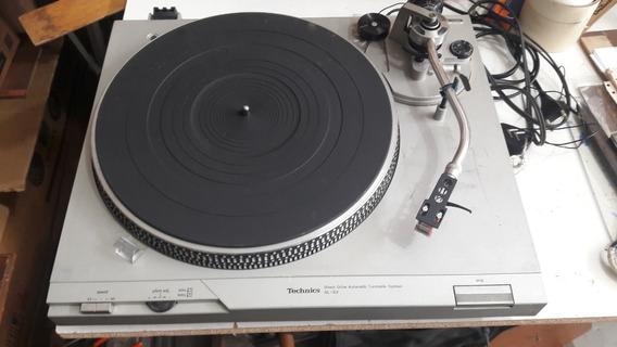 Toca Discos Turntable Technics Sl D2 Completo Não Envio