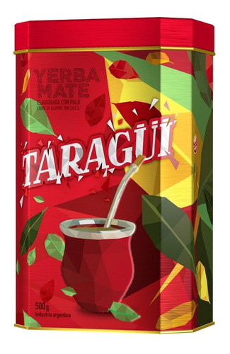 Lata Taragüi + Yerba 500g