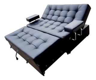 Sofa Cama 5 Pociciones Tipo Cuero Tex