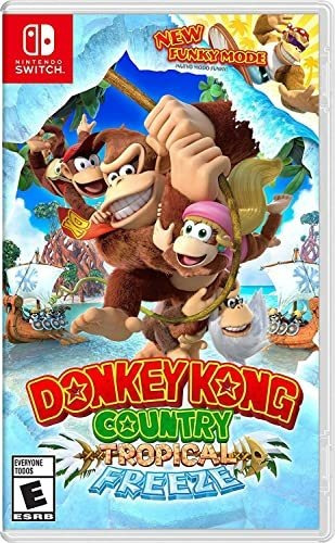Donkey Kong Country: Tropical Freeze - Aluguel 7 Dias