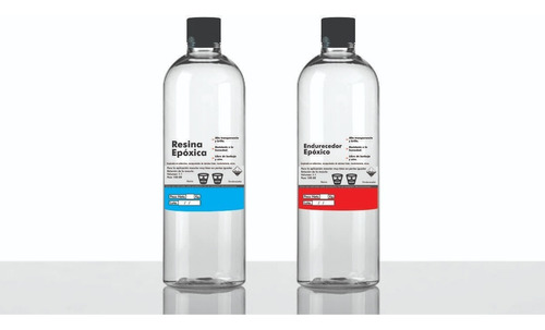 Resina Epoxica 1kg + 2 Pigmentos - Gemelo Transparente