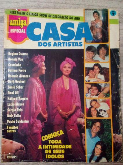 Revista Amiga Casa Dos Artistas Regina Duarte Rômulo Arantes
