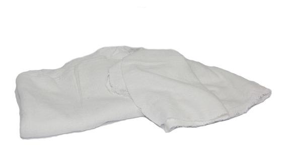Saco De Algodão Alvejado Branco Hb 40 X 68-cm 2 Duzias