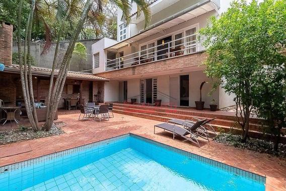 Casa Com 4 Dormitórios À Venda, 480 M² Por R$ 2.100.000 - Brooklin Paulista - São Paulo/sp - Ca0281