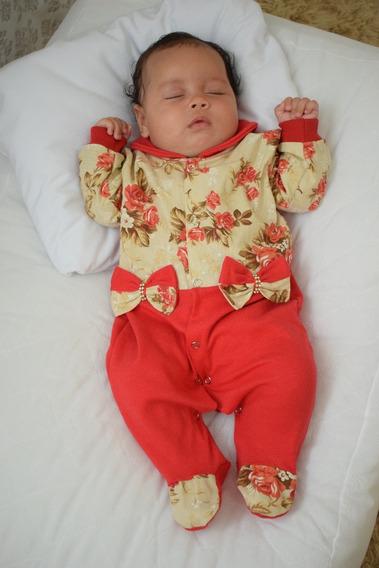 Saída Maternidade Menina Bia - Cores Diversas 100% Algodão