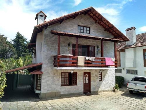 Casa Com 4 Dormitórios À Venda, 247 M² Por R$ 990.000,00 - Quinta Da Barra - Teresópolis/rj - Ca0672