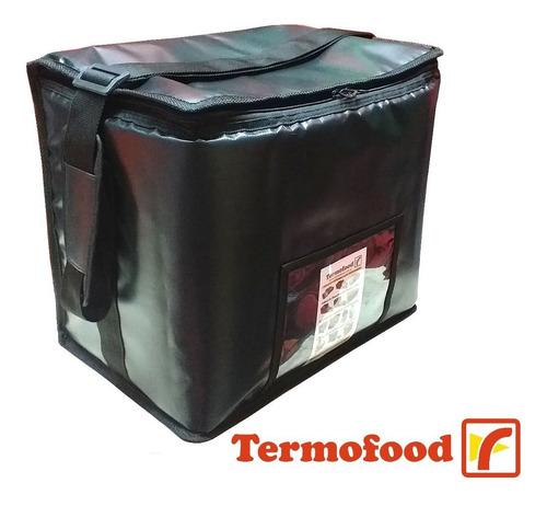 Bolso Térmico Morral Exterior Plastico, 48 Lts. Merc. Envios