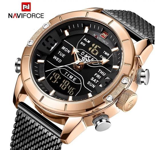 Relógio Naviforce Militar Sport Lançamento Envio Imediato