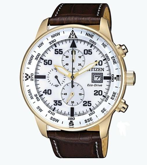 Reloj Citizen Eco-drive Hombre Chronograph Ca0693-04a 44 Mm