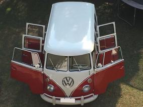 Vw Kombi Corujinha Luxo T1 6 Portas 1974