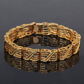 54d2e44a1e26 Cadena Pulsera Oro Mujer - Relojes y Joyas en Mercado Libre Chile