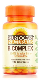 Complexo B Sundown (100 Comprimidos) B Complex Importado