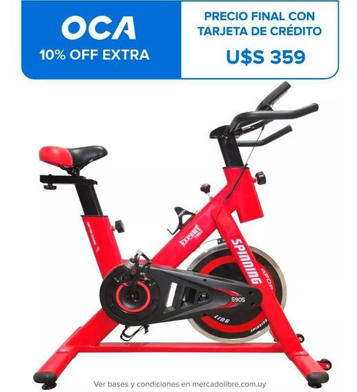 Bicicleta Spinning Profesional Regulable Pulsómetro