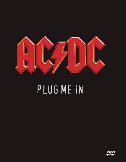 Box Dvd Ac/dc - Plug Me In / Duplo / Digipack