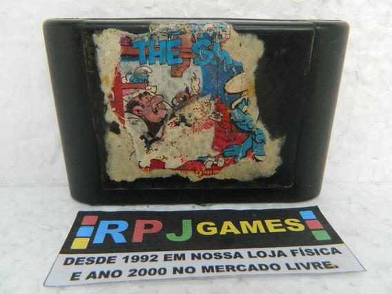 The Smurfs Original Tectoy Só O Cartucho P/ Mega Drive - Loja Centro Rj