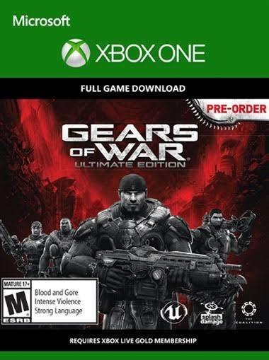 Gears Of War - Ultimate Edition Digital (código 25 Dígitos)