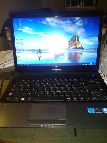 Notebook Samsung Np300e4a S/bateria.