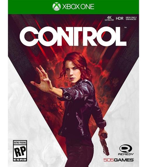 Control Xbox One Mídia Física Novo Lacrado Original
