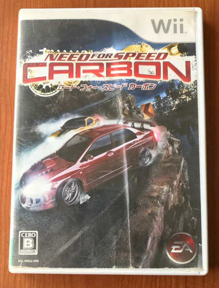 Need For Speed Carbon Japones- Nintendo Wii