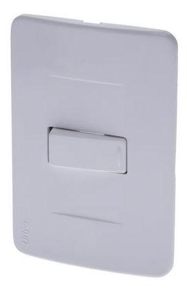Interruptor Sencillo Ultra Blanco Ciles