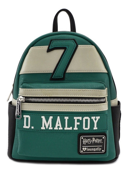 Mochila Escolar Mini Loungefly Harry Potter Draco Malfoy