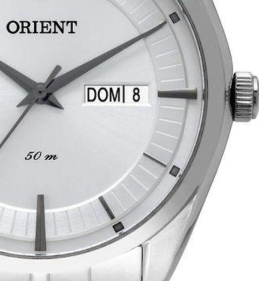 Relógio Masculino Clássico Orient Mbss2022 S1sx Analógico