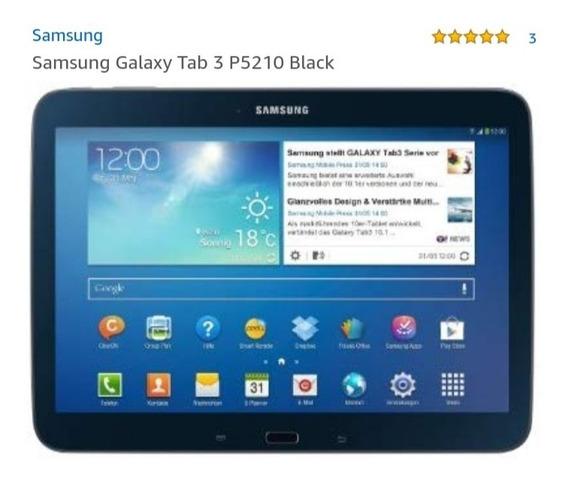 Tablet Samsung Galaxy Tab3 Wifi 16 Gb Preto Novinho!