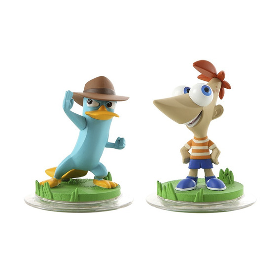 Boneco Disney Infinity Phineas E Agente P Xbox 360 E Ps3