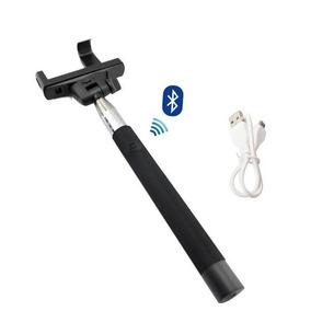 Bastão Selfie Monopod Com Botão Remoto Bluetooth