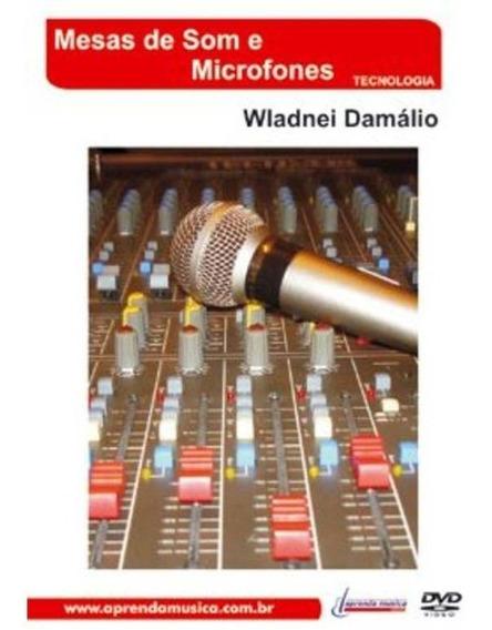Dvd Vídeo Mesas De Som E Microfones, Pro Tools Livro Cd