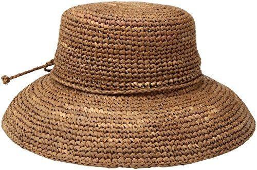 San Diego Sombrero Empresa De La Mujer Crochet Rafia Sombrer