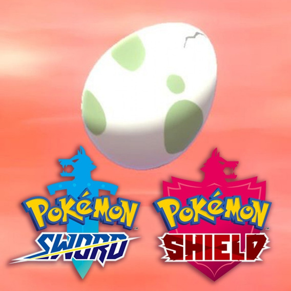1 Eggs (ovos) Custom Pokemon Shiny Sword And Shield